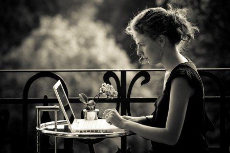 Extraverte sollicitatie voor introverte dame