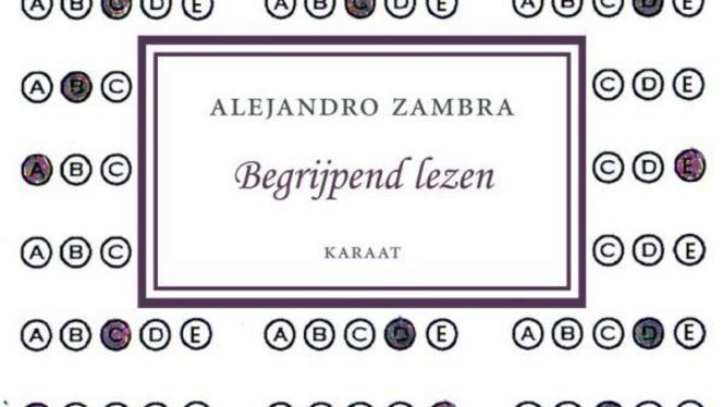 Begrijpend lezen, voorpagina van boek van Zambra