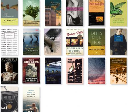 Mijn vijfsterrenboeken van 2016