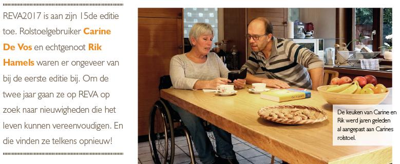 REVA, enthousiaste bezoekers aan deze beurs voor mensen met een beperking
