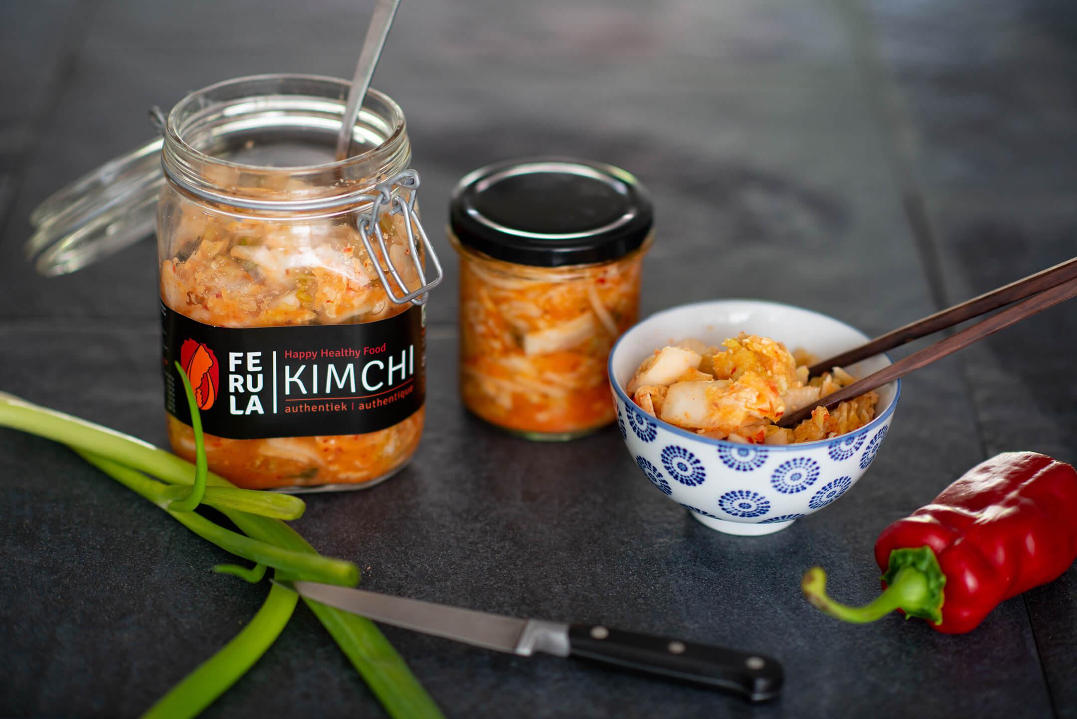 Gelukkig en gezond door het leven? Eet kimchi!