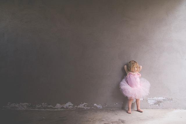 Wie balletschoenen zoekt, die vindt