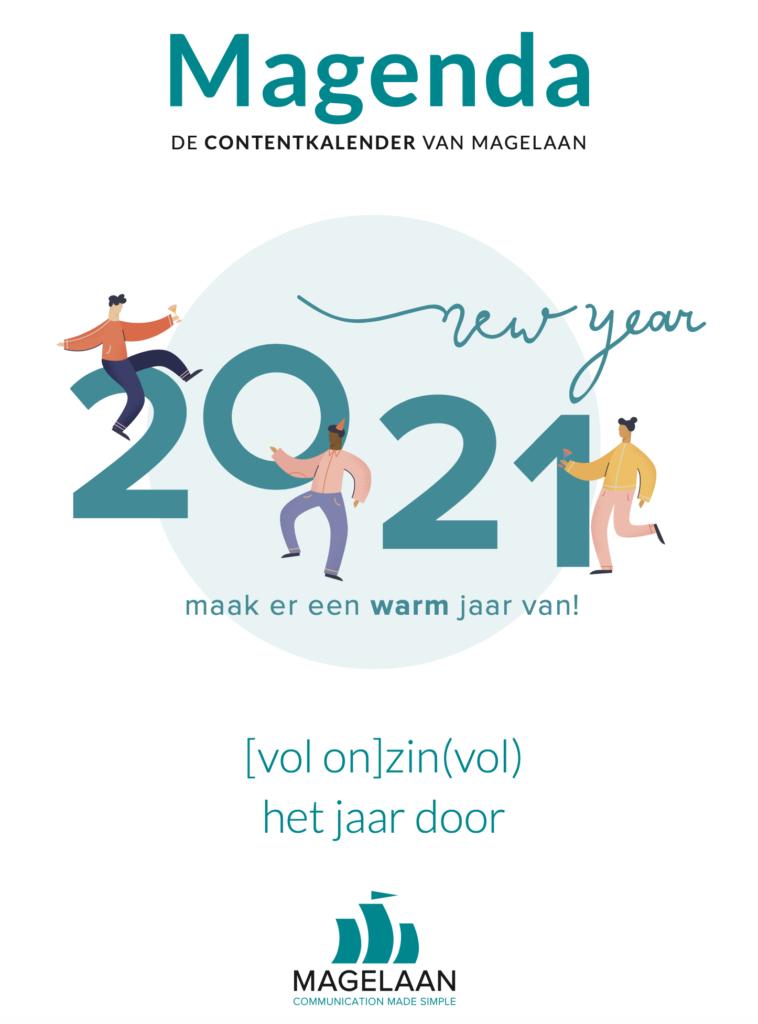 De Magenda 2021 is dé beste inhaakkalender of contentkalander die er is!