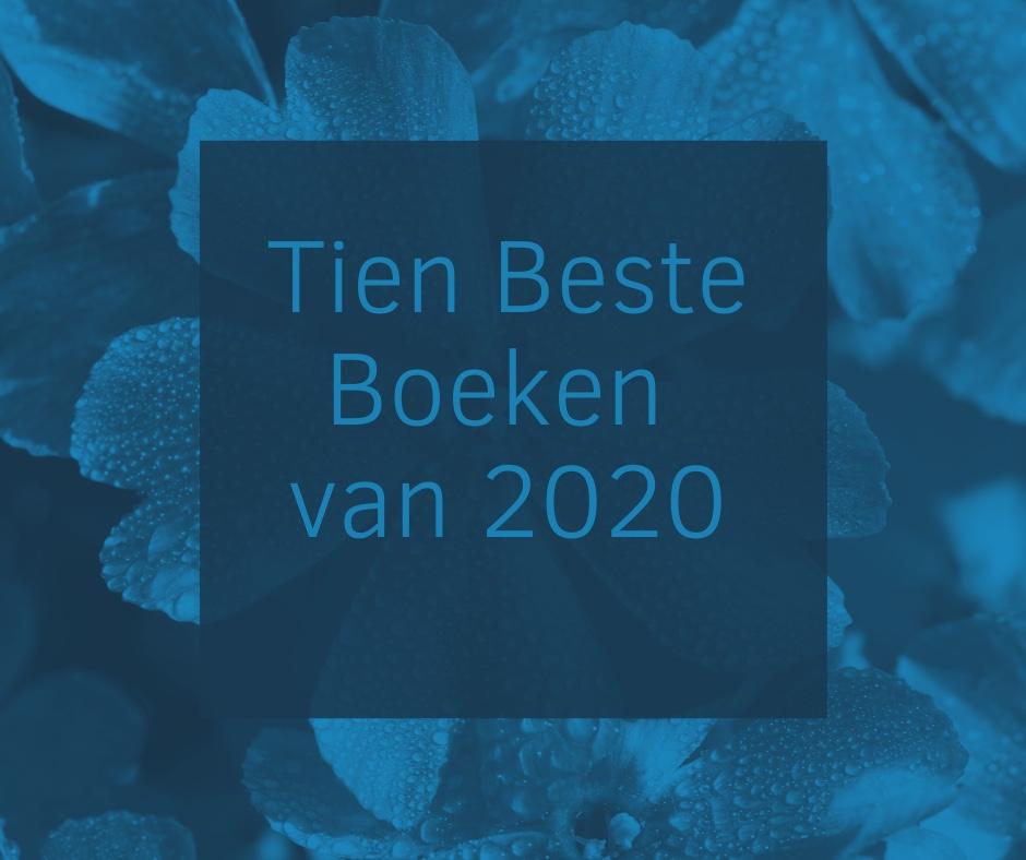 Benieuwd naar mijn boeken top tien 2020?