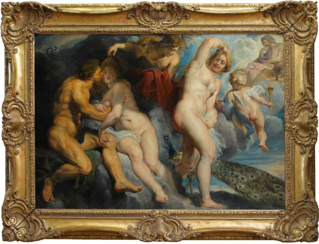 Ixion, Hera, oppergod Zeus en Hera's dubbelgangster
