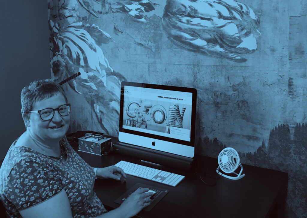 Christine Bonheure is de spilfiguur van content marketing bureau C'bon.