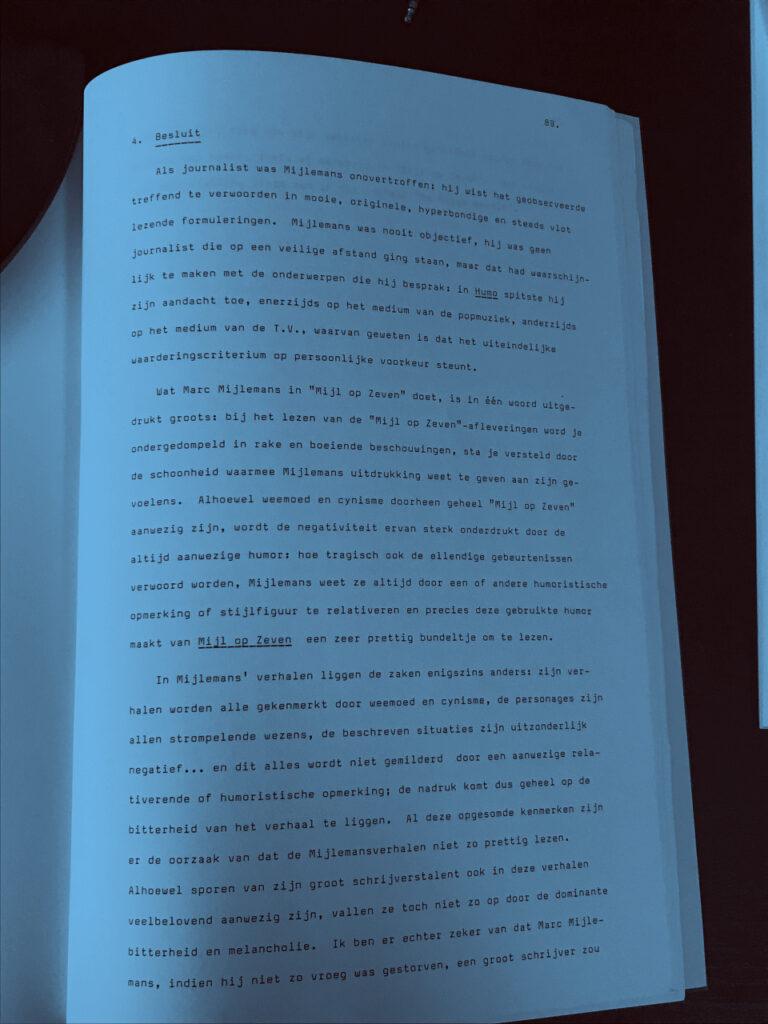 Besluit thesis Marc Mijlemans